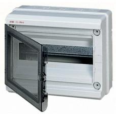 Бокс герметичный АВВ EUROPA IP65 (12модулей) навесной пластиковый серый с прозрачной дверью