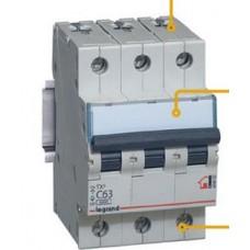 Автоматический выключатель Legrad TX3 C10A 3П 6000/6kA