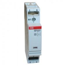 Модульный контактор АВВ ESB 20-20 20A кат 220V 2НО