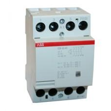 Модульный контактор АВВ ESB-63-40 63A кат 220V 4НО