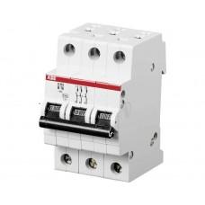 Электрический автомат защиты ABB SH 203L C10 трёхполюсный трёхфазный