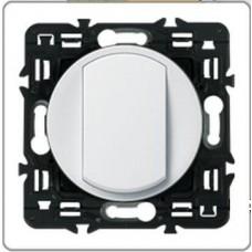 Legrand Celiane Выключатель перекрёстный (промежуточный) одноклавишный белый