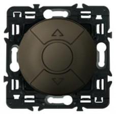 Legrand Celiane выключатель для управления приводами кнопочный 6А, (графит)