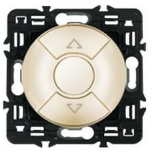 Legrand Celiane выключатель для управления приводами кнопочный 6А, (слоновая кость)