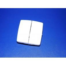 Legrand Oteo Выключатель-переключатель двухклавишный (проходной)