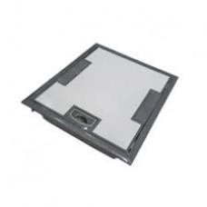 Напольная коробка с глубиной 65 мм 4х2 модуля + 2х1 модуль -антикоррозийное п