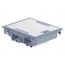 Напольная коробка с глубиной 65 мм 8х2 модуля - антикоррозийное покрытие