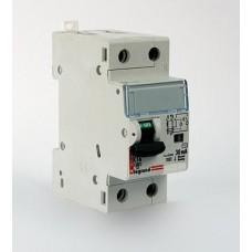 Автоматический выключатель дифференциального тока (АВДТ) Legrand DX3 1П+Н C10А 30MA-AC