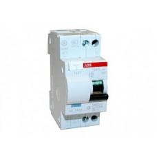 Дифференциальный автоматический выключатель АВВ DS 941 C16А 30mA, 4,5кА (тип AC, хар. С) однофазный