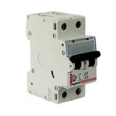 Автоматический выключатель Legrand DX однофазный двухполюсный 10A, 6kA