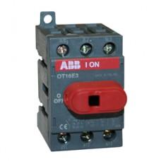 ABB OT16F3 Выключатель-разъединитель 3Р 16А с ручкой управления