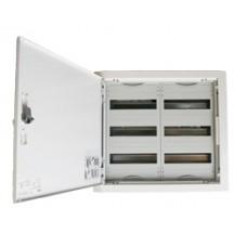 Щит металлический распределительный встраиваемый ABB U 32 E (72 модуля) 524х550х120мм 2 ряда по 3 рейки