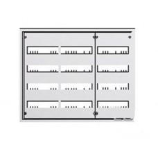 Щит металлический распределительный встраиваемый ABB U 43 E (144 модуля) 700х825х120мм 3 ряда по 4 рейки