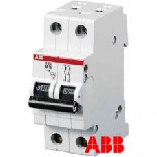Электрический автомат защиты ABB SH202L C16 двухполюсный однофазный