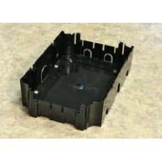 BOX/6 Коробка для люка в пол на 6 и на 8 модулей (45х45мм),пластиковая для заливки в бетон