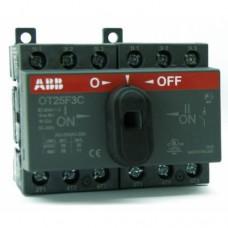 ABB OT16F3С Выключатель-разъединитель реверсивный 3Р 16А с ручкой управления