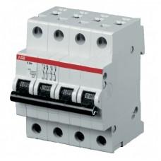 Электрический автомат защиты ABB SH 204L C16 четырёхполюсный трёхфазный