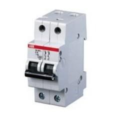 Электрический автомат защиты ABB SH202L C6 двухполюсный однофазный