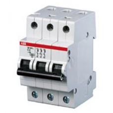 Электрический автомат защиты ABB SH203L C6 трёхполюсный трёхфазный