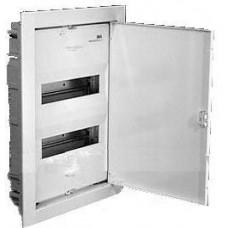 Щит металический распределительный встраиваемый ABB UK 520 S 24 (28) модуля 460х350х95мм