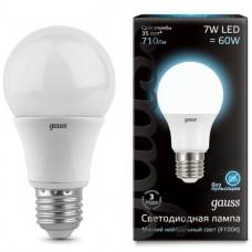 Лампа Gauss LED A60 E27 7W 4100K