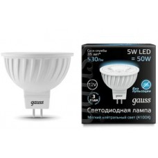 Лампа Gauss LED MR16 GU5.3 5W 12V 4100K