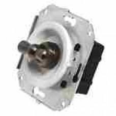 Выключатель 2-х позиционный для внутреннего монтажа проходной белый Salvador