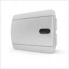 Щит встраиваеный 6 мод. IP40, непрозрачная белая дверца