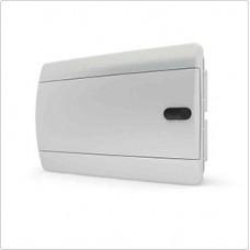 Щит встраиваеный 12 мод. IP40, непрозрачная белая дверца