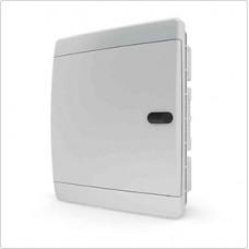 Щит встраиваеный 18 мод. IP40, непрозрачная белая дверца