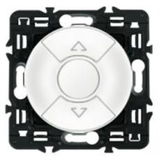 Legrand Celiane выключатель для управления приводами кнопочный 6А белый