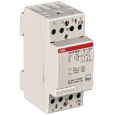 Модульный контактор ABB ESB-24-22 24А кат 220V 2НО+2НЗ