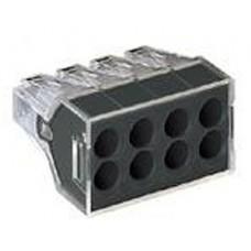 Клеммники wago 773 328 на 8 пр. 1,0-2,5 мм2, без пасты.