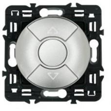 Legrand Celiane выключатель для управления приводами кнопочный 6А, (титан)