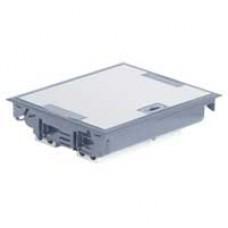 Напольная коробка с глубиной 75-105 мм 24 модуля -антикоррозийное покрытие -