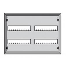 Щит металлический распределительный навесной АТ 22 Е АВВ (48 модулей) 374х574х140мм 2 ряда по 2 рейки