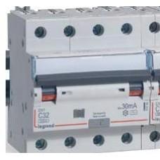Автоматический выключатель дифференциального тока (АВДТ) Legrand DX3 4П C16А 30MA-AC