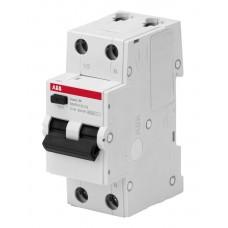 ABB Basic M  1P+N 10А C 4.5kA 30мA AC Выключатель автоматический дифференциального тока