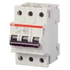 Автоматический выключатель ABB S283 C80 трёхполюсный трёхфазный