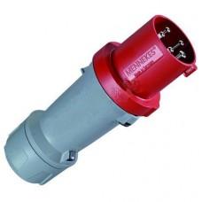Силовая вилка кабельная ABB 63А 3Р+N IP44 CEW 363 P6