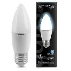 Лампа Gauss LED Candle E27 6.5W 4100К