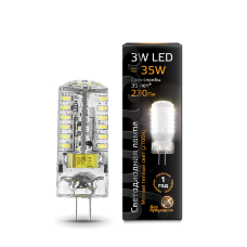 Лампа Gauss LED G4 AC150-265V 3W 2700K