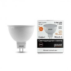 Лампа Gauss LED Elementary MR16 GU5.3 3.5W 2700K