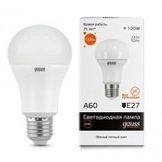 Лампа Gauss Elementary LED A60 15W E27 2700K