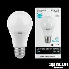 Лампа Gauss LED Elementary A60 7W E27 4100K