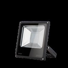 Прожектор светодиодный Gauss LED 30W IP65 6500К черный