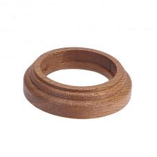 Рамка восьмерка 1 ПОСТ дуб коричневый для наружного монтажа