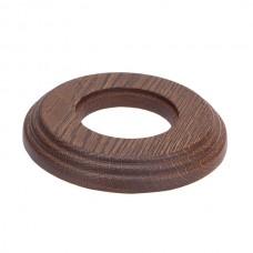 Рамка восьмерка 1 ПОСТ дуб коричневый для внутреннего монтажа